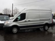 FORD TRANSIT 350/130 TREND L3H3 LWB HIGH ROOF EURO 6 RWD IN SILVER WITH PARKING SENSORS,CRUISE,6 SPEED AND MORE - 1339 - 4