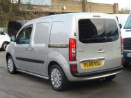 MERCEDES CITAN 111 CDI SPORT 1.5 CDI 110 EURO 6  LONG IN METALLIC SILVER , AIR CONDITIONING , WITH ONLY 9000 MILES **** £13995 + VAT **** - 1660 - 4