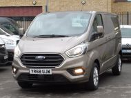 FORD TRANSIT CUSTOM 280/130 LIMITED L1 SWB EURO 6 WITH ONLY 22.000 MILES,AIR CONDITIONING,HEATED SEATS,SENSORS,ELECTRIC PACK AND MORE **** £18995 + VAT **** - 1543 - 25