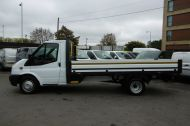 FORD TRANSIT 350/125 E/F 13FT 6 ALLOY DROPSIDE,1 OWNER,6 SPEED MANUAL,TWIN REAR WHEELS AND MORE - 1213 - 7