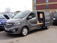 VAUXHALL VIVARO 2900 L2H1 CDTI SPORTIVE IN GREY WITH ONLY 54.000 MILES,AIR CONDITIONING,SAT NAV,ALLOY WHEELS AND MORE *** SOLD *** - 1359 - 2