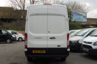 FORD TRANSIT 350 L3 H3 RWD 2.0 TDCI 130 IN WHITE WITH AIR CONDITIONING ** EURO 6 , ULEZ COMPLIANT  , ONLY  46000 MILES **** £15495 + VAT **** - 1742 - 7