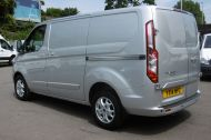 FORD TRANSIT CUSTOM 270/125 LIMITED L1H1 SWB DIESEL VAN IN SILVER WITH ONLY 57.000 MILES,AIR CONDITIONING,HEATED SEATS,ELECTRIC PACK,CRUISE CONTROL,ALLOY WHEELS AND MORE  - 1111 - 8