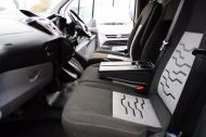 FORD TRANSIT CUSTOM 290 LIMITED L2 H1 125 LWB IN METALLIC SILVER WITH AIR CONDTIONING **** JUST ARRIVED ***** £9995 + VAT  - 1258 - 17