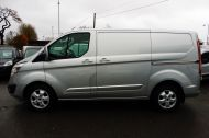 FORD TRANSIT CUSTOM 290/130 LIMITED L1H1 LWB IN SILVER WITH ONLY 21.000 MILES,2.0 130PS EURO 6,AIR CONDITIONING AND MORE - 1261 - 20