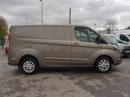 FORD TRANSIT CUSTOM 280/130 LIMITED L1 SWB EURO 6 WITH ONLY 22.000 MILES,AIR CONDITIONING,HEATED SEATS,SENSORS,ELECTRIC PACK AND MORE **** £18995 + VAT **** - 1543 - 21