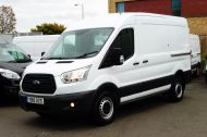 FORD TRANSIT 330 L2H2 MWB MEDIUM ROOF WITH FRONT AND REAR PARKING SENSOR,BLUETOOTH,6 SPEED AND MORE - 1499 - 2