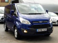 FORD TRANSIT CUSTOM 290/125 LIMITED L1H1 SWB 6 SEATER DOUBLE CAB COMBI VAN WITH AIR CONDITIONING,PARKING SENSORS,ALLOYS AND MORE - 1388 - 10