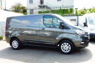 FORD TRANSIT CUSTOM 280/130 LIMITED L1H1 SWB 2.0 TDCI EURO 6 IN MAGNETIC GREY NEW SHAPE MODEL WITH ONLY 18.000 MILES AND MORE - 1437 - 26