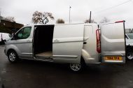 FORD TRANSIT CUSTOM 290 LIMITED L2 H1 125 LWB IN METALLIC SILVER WITH AIR CONDTIONING **** JUST ARRIVED ***** £9995 + VAT  - 1258 - 6