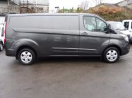 FORD TRANSIT CUSTOM 290/130 LIMITED EURO 6 L2 LWB IN MAGNETIC GREY WITH ONLY 23.000 MILES,2.0 130PS,AIR CONDITIONING **** SOLD **** - 1239 - 23