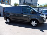 FORD TRANSIT CUSTOM 300 TREND 2.0 TDCI 130 EURO 6 L1 H1 IN MAGNETIC GREY , ONLY 22000 MILES **** £14995 + VAT **** - 1390 - 3