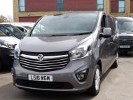 VAUXHALL VIVARO 2900 L2H1 CDTI SPORTIVE IN GREY WITH ONLY 54.000 MILES,AIR CONDITIONING,SAT NAV,ALLOY WHEELS AND MORE *** SOLD *** - 1359 - 8