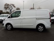 FORD TRANSIT CUSTOM 290/130 LIMITED L1 SWB EURO 6 WITH ONLY 17.000 MILES,2.0 130PS EURO 6,AIR CONDITIONING,PARKING SENSORS AND MORE - 1252 - 18