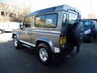 LAND ROVER DEFENDER 90 XS STATION WAGON 2.4 TDCI 120 6 - SPEED IN METALLIC GREY WITH HALF LEATHER AND AIR CONDITIONING , JUST ARRIVED **** £19995 **** - 1297 - 6