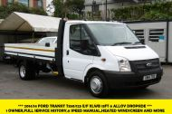 FORD TRANSIT 350/125 E/F 13FT 6 ALLOY DROPSIDE,1 OWNER,6 SPEED MANUAL,TWIN REAR WHEELS AND MORE - 1213 - 1