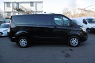 FORD TRANSIT CUSTOM 270/125 LIMITED L1H1 SWB DIESEL VAN IN BLACK WITH ONLY 37.000 MILES,AIR CONDITIONING,HEATED SEATS,ELECTRIC PACK,CRUISE CONTROL,ALLOY WHEELS AND MORE  - 1053 - 17