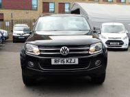 VOLKSWAGEN AMAROK  2.0 TDI 180 HIGHLINE AUTOMATIC 4 MOTION TECH DOUBLE CAB WITH FULL GREY LEATHER , JUST ARRIVED **** £14995 + VAT **** - 1463 - 2