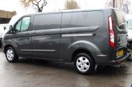 FORD TRANSIT CUSTOM 290/130 LIMITED L2H1 LWB IN MAGNETIC GREY WITH ONLY 23.000 MILES,2.0 130PS EURO 6,AIR CONDITIONING AND MORE - 1239 - 5