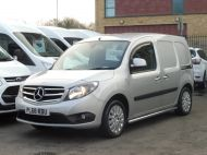 MERCEDES CITAN 111 CDI SPORT 1.5 CDI 110 EURO 6  LONG IN METALLIC SILVER , AIR CONDITIONING , WITH ONLY 9000 MILES **** £13995 + VAT **** - 1660 - 1