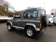 LAND ROVER DEFENDER 90 XS STATION WAGON 2.4 TDCI 120 6 - SPEED IN METALLIC GREY WITH HALF LEATHER AND AIR CONDITIONING , JUST ARRIVED **** £20995 **** - 1297 - 5