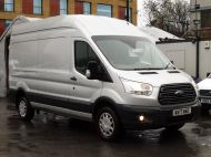 FORD TRANSIT 350/130 TREND L3H3 LWB HIGH ROOF EURO 6 RWD IN SILVER WITH PARKING SENSORS,CRUISE,6 SPEED AND MORE - 1339 - 3
