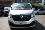 RENAULT TRAFIC SL27 SPORT ENERGY L1H1 SWB DCI IN SILVER WITH ONLY 64.000 MILES,AIR CONDITIONING,SAT NAV,PARKING SENSORS **** SOLD **** - 1282 - 2