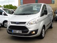 FORD TRANSIT CUSTOM 290 TREND L1H1 SWB IN SILVER 2.0 EURO 6 WITH ONLY 34.000 MILES,FRONT+REAR PARKING SENSORS,ELECTRIC PACK AND MORE  - 1383 - 21