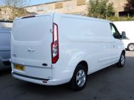 FORD TRANSIT CUSTOM 290/130 LIMITED L2H1 LWB 2.0 130PS EURO 6,IN WHITE WITH AIR CONDITIONING,PARKING SENSORS AND MORE  - 1374 - 6