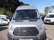 FORD TRANSIT 350 2.0 TDCI 130 TREND L4 H3 JUMBO ** EURO 6 ** WITH AIR CONDITIONING  IN METALLIC SILVER , JUST ARRIVED **** £15995 + VAT **** - 1477 - 3