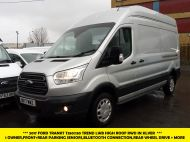 FORD TRANSIT 350/130 TREND L3H3 LWB HIGH ROOF EURO 6 RWD IN SILVER WITH PARKING SENSORS,CRUISE,6 SPEED AND MORE - 1339 - 1