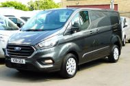 FORD TRANSIT CUSTOM 280/130 LIMITED L1H1 SWB 2.0 TDCI EURO 6 IN MAGNETIC GREY NEW SHAPE MODEL WITH ONLY 18.000 MILES AND MORE - 1437 - 2