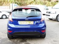 FORD FIESTA VAN 1.5 TDCI WITH AIR CONDITIONING IN DEEP IMPACT BLUE WITH ONLY 54.000 MILES - 1234 - 4