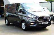 FORD TRANSIT CUSTOM 280/130 LIMITED L1H1 SWB 2.0 TDCI EURO 6 IN MAGNETIC GREY NEW SHAPE MODEL WITH ONLY 18.000 MILES AND MORE - 1437 - 4
