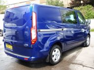 FORD TRANSIT CUSTOM 290/125 LIMITED L1H1 SWB 6 SEATER DOUBLE CAB COMBI VAN WITH AIR CONDITIONING,PARKING SENSORS,ALLOYS AND MORE - 1388 - 5