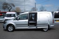 VOLKSWAGEN CADDY MAXI C20 TDI HIGHLINE IN SILVER WITH ONLY 41.000 MILES,AIR CONDITIONING,SAT NAV,ELECTRIC PACK AND MORE - 1099 - 5