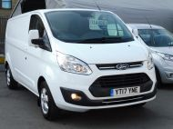 FORD TRANSIT CUSTOM 290/130 LIMITED L2H1 LWB 2.0 130PS EURO 6,IN WHITE WITH AIR CONDITIONING,PARKING SENSORS AND MORE  - 1374 - 25