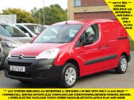 CITROEN BERLINGO 625 ENTERPRISE L1 SWB BLUEHDI EURO 6 ONLY 22.000 MILES,AIR CONDITIONING,PARKING SENSORS,BLUETOOTH AND MORE - 1582 - 2