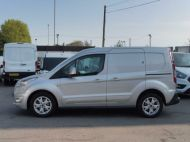 FORD TRANSIT CONNECT 200 LIMITED L1 SWB EURO 6 VAN IN SILVER WITH ONLY 41.000 MILES,AIR CONDITIONING,ELECTRIC PACK,SENSORS,ALLOY'S AND MORE - 1555 - 19