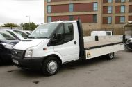 FORD TRANSIT 350/125 E/F 13FT 6 ALLOY DROPSIDE,1 OWNER,6 SPEED MANUAL,TWIN REAR WHEELS AND MORE - 1213 - 15