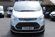 FORD TRANSIT CUSTOM 270/125 LIMITED L1H1 SWB DIESEL VAN IN SILVER WITH ONLY 57.000 MILES,AIR CONDITIONING,HEATED SEATS,ELECTRIC PACK,CRUISE CONTROL,ALLOY WHEELS AND MORE  - 1111 - 3