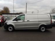 MERCEDES VITO 111 CDI LWB IN SILVER WITH ONLY 58.000 MILES,AIR CONDITIONING,CRUISE CONTROL,BLUETOOTH,6 SPEED AND MORE - 1632 - 23
