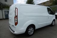 FORD TRANSIT CUSTOM 290/125 LIMITED L1H1 LWB IN WHITE WITH SAT NAV,AIR CONDTIONING,HEATED SEATS,ELECTRIC PACK,ALLOY WHEELS AND MORE - 1174 - 5