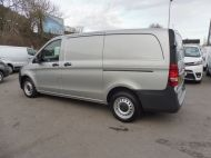 MERCEDES VITO 111 CDI LWB SILVER WITH ONLY 37.000 MILES,AIR CONDITIONING,CRUISE CONTROL,BLUETOOTH,6 SPEED AND MORE - 1696 - 7