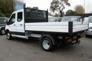 FORD TRANSIT 350 L3 DOUBLE CREW CAB ALLOY TIPPER WITH ONLY 34.000 MILES,6 SPEED MANUAL,TOW BAR AND MORE  - 1228 - 25
