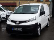 NISSAN NV200 1.5DCi ACENTA SWB EX BRITISH GAS WITH AIR CONDITIONING,ELECTRIC PACK,REVERSE CAMERA **** SOLD **** - 1405 - 19
