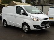 FORD TRANSIT CUSTOM 290/130 LIMITED L1 SWB EURO 6 WITH ONLY 17.000 MILES,2.0 130PS EURO 6,AIR CONDITIONING,PARKING SENSORS AND MORE - 1252 - 3