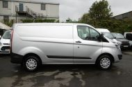 FORD TRANSIT CUSTOM 290 TREND L1 SWB IN SILVER 2.0 EURO 6 ULEZ WITH PARKING SENSORS,CRUISE,ELECTRIC PACK AND MORE *** CHOICE OF 2 FROM £11995+VAT *** - 1387 - 9