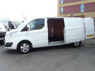 FORD TRANSIT CUSTOM 290/130 LIMITED L2H1 LWB 2.0 130PS EURO 6,IN WHITE WITH AIR CONDITIONING,PARKING SENSORS AND MORE  - 1374 - 22