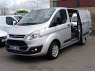 FORD TRANSIT CUSTOM 290 TREND L1H1 SWB IN SILVER 2.0 EURO 6 WITH ONLY 34.000 MILES,FRONT+REAR PARKING SENSORS,ELECTRIC PACK AND MORE  - 1383 - 20